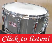 14 X 7 Yamaha, c89 Recording Custom, Quartz Gray