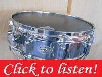 1973 Rogers Super Ten Snare Drum 5x14