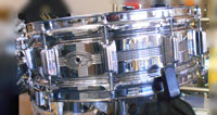 Rogers Dynasonic, 1960s Chrome over brass 14 X 5